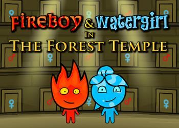 Fireboy-and-Watergirl-Forest-Temple