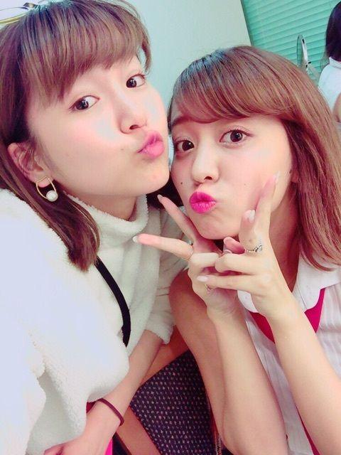 【速報】ハロプロ最強の美人姉妹の2ショットキタ━━━━━━(゚∀゚)━━━━━━!!!!