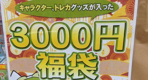 総額3万相当のゲーマーズ福袋(3000円) 開封の儀
