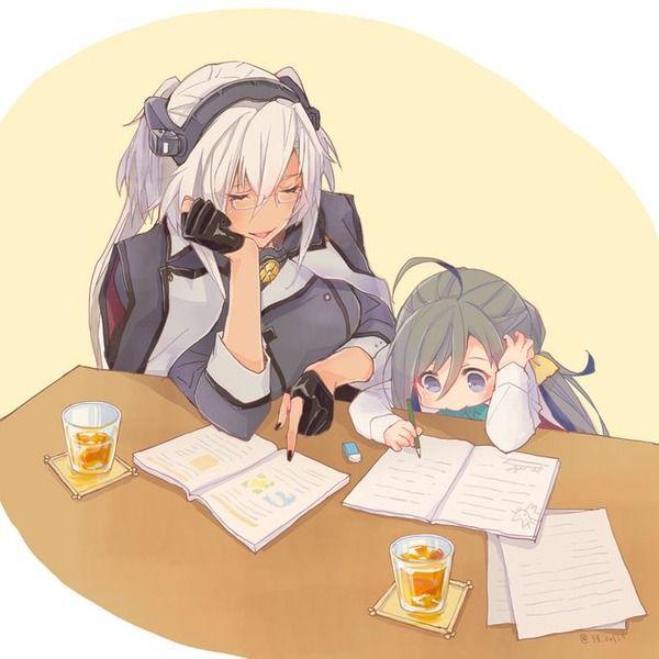 【艦これ】勉強を教えてくれる武蔵さん 他なごみネタ