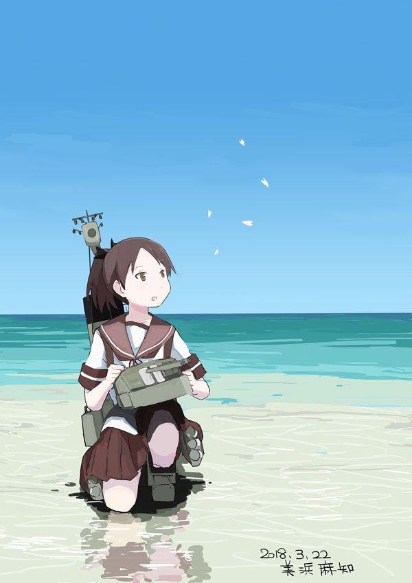 【艦これ】春の海の敷波 他なごみネタ