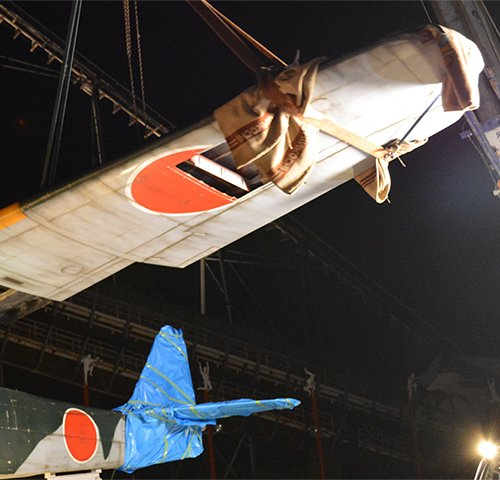【艦これ】1/1原寸大瑞雲は明日11:00開始予定の除幕式で公開開始!