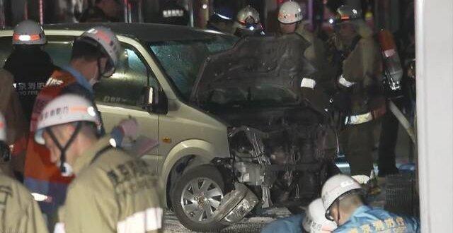【速報】年明け直後の原宿・竹下通りで車が暴走、逮捕の男「テロを起こそうと思った」