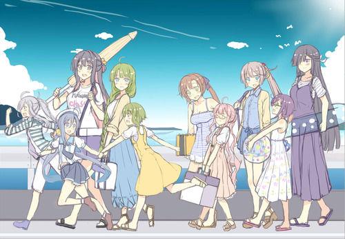 【艦これ】夏!海!夕雲型! 他なごみネタ