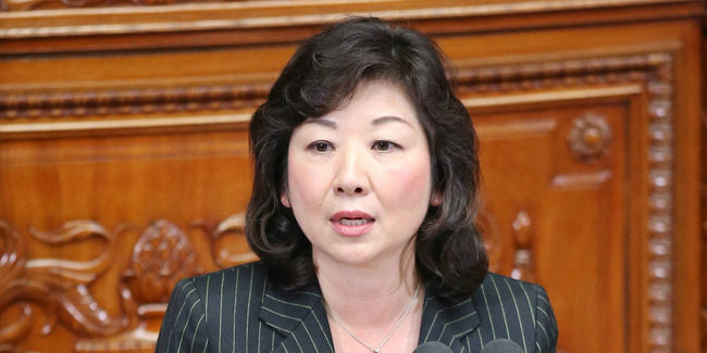 自民・野田聖子議員が中国の人工島造成について「直接日本には関係ない。何があっても独自路線で対中国の外交に徹するべき」
