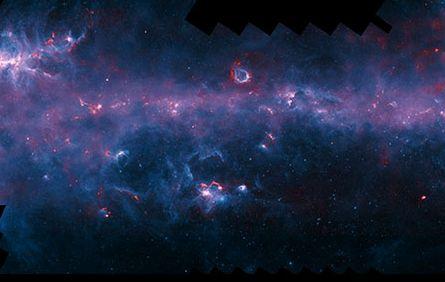 【ロマン】ついに、銀河系地図が完成!星が生まれる領域を描き出す!