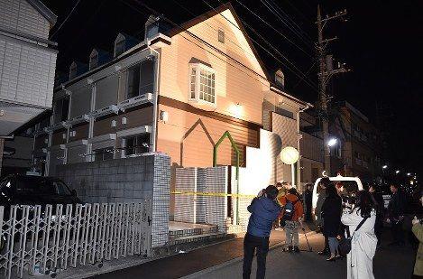 【ヤバイ】神奈川のアパートから切断された頭部2つや複数の遺体が見つかり騒然!男が自殺サイトで知り合った女性を殺害していた模様・・・