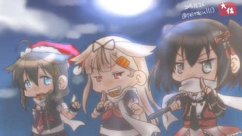 【艦これ】時雨「今回の目的は・・・」 川内&夕立「「夜戦!!」」 他なごみネタ