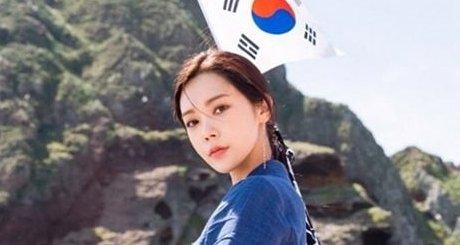 元K-POPアイドルの女優が竹島に上陸して日本を挑発するSNS投稿、「政治と文化は別」とはなんだったのか