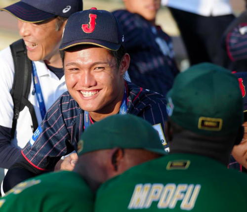 ※朗報※高校野球日本代表選手、パズドラで国際交流!