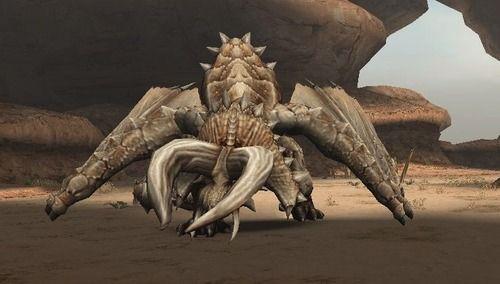 【パズドラ】ディアブロスさんは本来「砂漠でサボテンむしゃむしゃしてるモンスター」