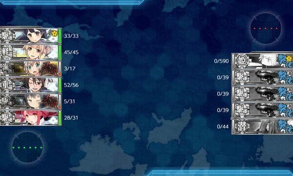 【艦これ】今回のE1は甲で行った方がいい? E1攻略編成雑談