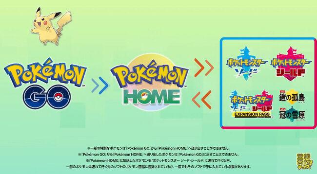 【速報】ついに『ポケモンHOME』が年内に『ポケモンGO』との連携開始!連携すると幻のポケモンも貰えるぞおおおお!!