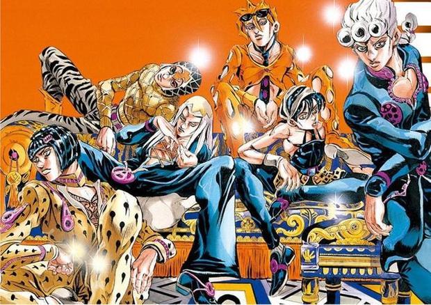 『ジョジョの奇妙な冒険 第5部:黄金の風』 アニメ化決定!?新OPに「GW(Golden Wind)2001」の表記が!