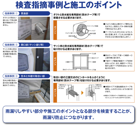 防水検査②