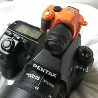 PENTAX K-x ミニチュアマスコット オレンジ