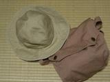 帽子とミニショルダー