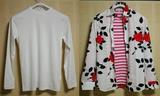 Tシャツ・薔薇シャツとボーダー
