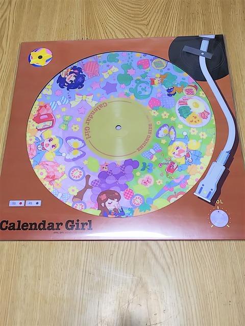 カレンダーガールLPレコード★
