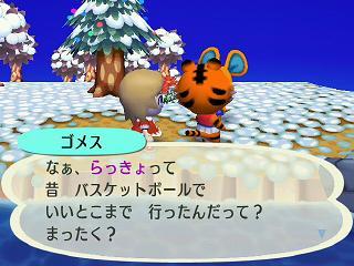 どうぶつの森0307バスケ★