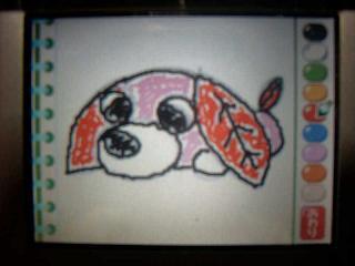 お茶犬絵描き歌