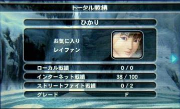 DOAD-001トータル戦績1★