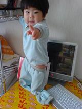 こら!!ママ撮るなぁ〜!!