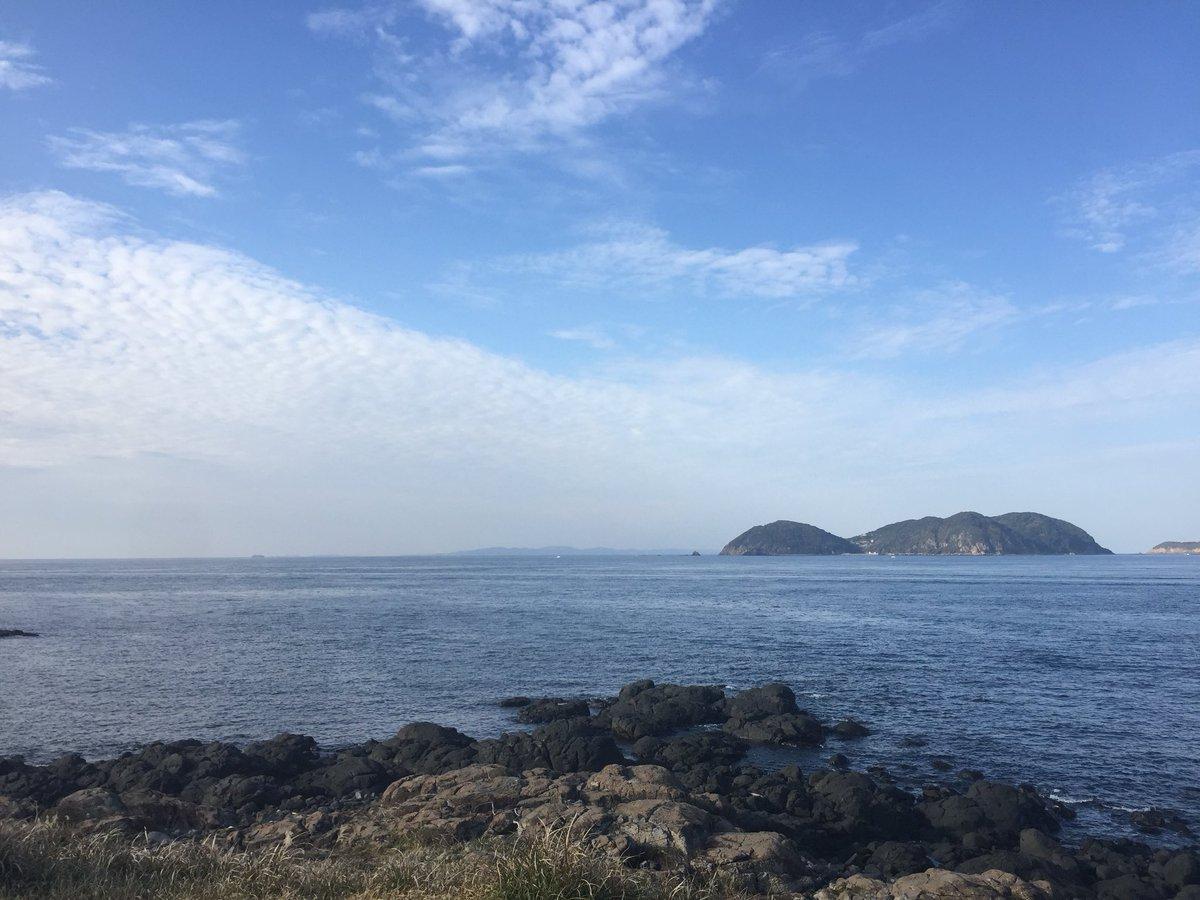 佐賀県は唐津の波戸岬へ。玄界灘...