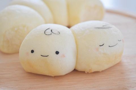 ふわふわ♪赤ちゃんちぎりパン。