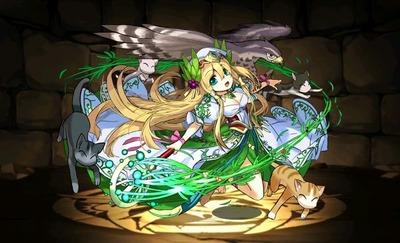 緑聖の豊麗神・フレイヤ