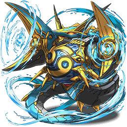 巨蟹の鉄星龍・キャンサー
