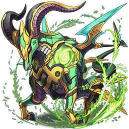 磨羯の鉄星龍・カプリコン