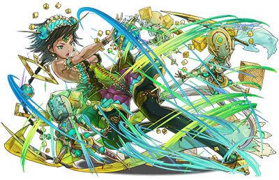 創造の緑機操士・クラジュ=マキナ