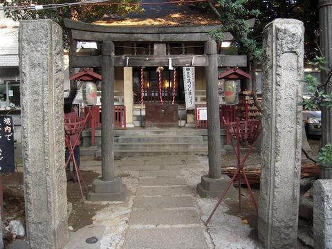 皆中稲荷神社 東京のパワースポット