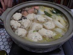 2019 01 04 鮭鶏団子鍋