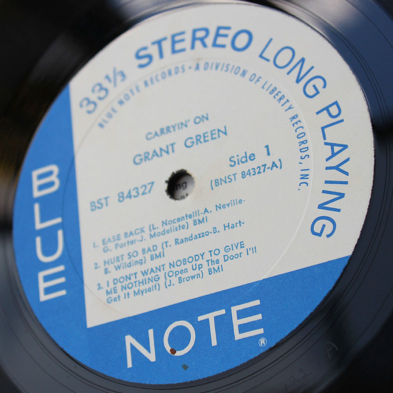 Grant Green Carryin On