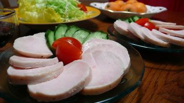 鶏ハム(クレイジーソルト)