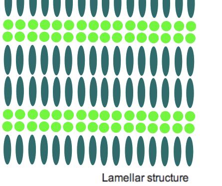 ラメラ構造