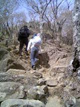 筑波山岩ごつごつ2
