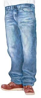 「太いジーンズ」はオジサンの始まり