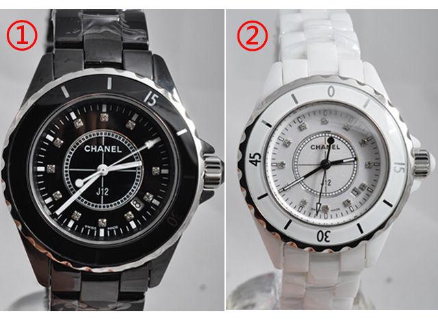 wholesale dealer 59f8f 98b2e シャネル 時計 J12 H1625/H1628レディース|J12 CHANEL H1626 ...