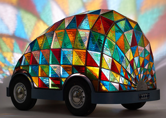 stained_glass_car_by_Dominic_Wilcox_dezeen_784_0
