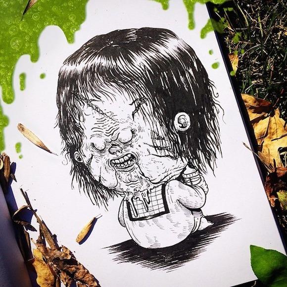 Baby Pazuzu - Exorcist