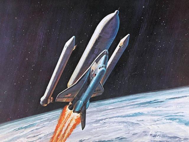 space shuttle concept art 14