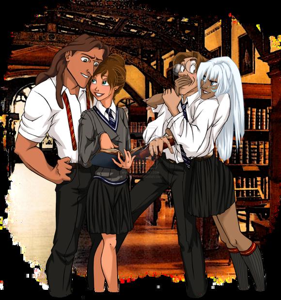 disney_at_hogwarts__7_8_by_eira1893-d7cwx9r