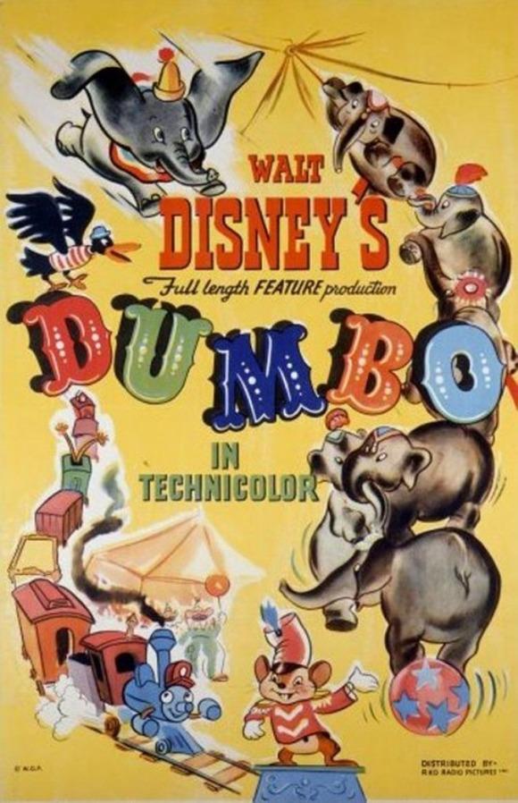 1941-Dumbo-Poster-517x800