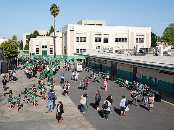 Inglewood High School, Inglewood, California