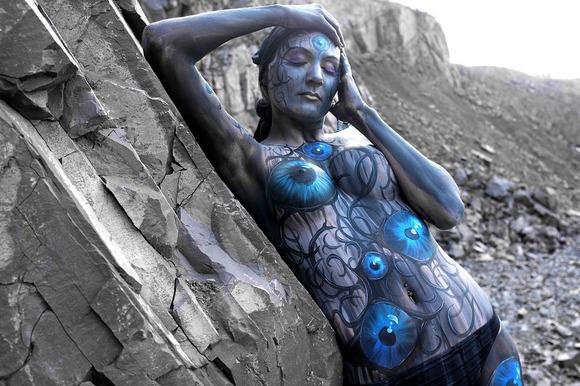 £££ Body art by Gesine Marwedel-1470458