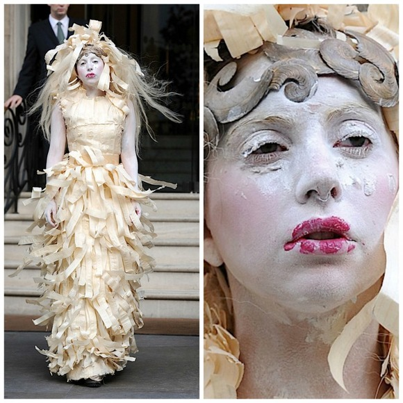 the-shredded-gaga-dress-10-outrageous-outfits-Lady-Gaga