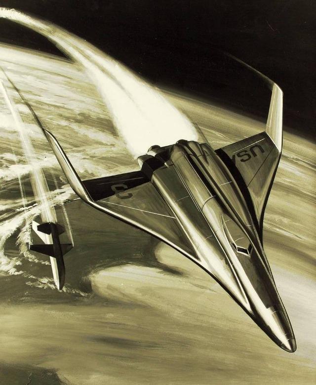 space shuttle concept art 3